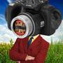 Camera head by Fernsalini