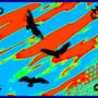 Pyscadellic Birds by TheThinWhale