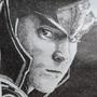 Loki Laufeyson (Pointilism) by mspopsie21