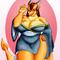 Dragon Chick in a Kimono