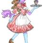 Sweet maid by Rrachel-chan