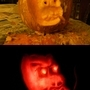 Pumpkin what has facial hair