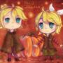 Rin & Len - Happy Halloween! by lilHeart