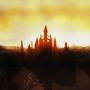 Anor Londo sunset by veselekov