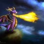 .:Spyro:. by 0Stasis