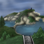 Tranquil Island by fadedshadow
