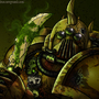 Plague Marine by Kkylimos
