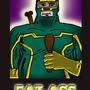 FAT-ASS poster by CHEAPTOONS