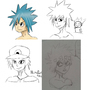 Stuff I drew months ago by Mistarooni