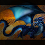 Blue Dragon by GraphiteSamurai