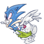 Sonic by Tersivwz