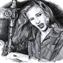 Veronica Lake by Sulup