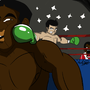 Manlypitts sucky Punch-out art