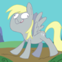 Derpy Hooves by limeslimed