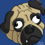 Pug Face by EmuToons