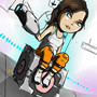 Chell by ChazzForte