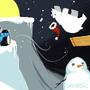 Christmas Art Worm Entry by Sabtastic
