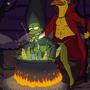 The Simpsons - Satan's Bride by blargsnarf