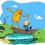 Calfinn and Hobbes