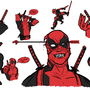 Deadpool Sketches by Surfsideaaron