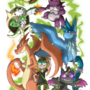 NEON POKEMON TEAM OF DOOM by ZeTrystan