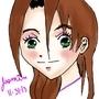 Brown haired Manga girl