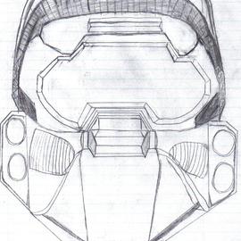 Halo 3 Master Chief Helmet By Venoxis On Newgrounds