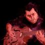 Playing guitar by TrojanMan87