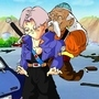 Trunks and Dr Gero :D by Emmettc41