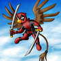 Commission_Griffin Deadpool by Evil-Rick