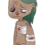 Scribbling Sadness by limeslimed
