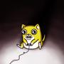 Gaming Kitty by AshleyAlyse
