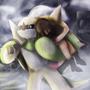 Hedgehog in spiky armor by Kakura-GV