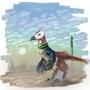Dino Desert by daigonite