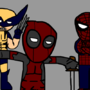 deadpool and the boyzzzz by awesomegrounds