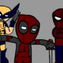 deadpool and the boyzzzz