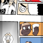 Awesome Pug Comic Page Concept by lapisrabbit