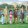 Characters designs in scenery. by Nihonjorge