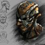 Witch Doctor Concept head by TrojanMan87