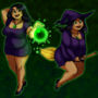 Midori the Witch by Ktullanyx