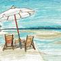 um a beach by ninjaslave