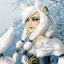 Snow fox by Webmegami