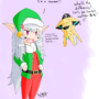 Christmas spirit colored by HowSplendid