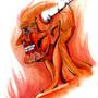 Demon Head by FASSLAYER