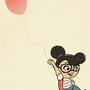 Red ballon by laisita