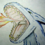 Fire-Breathing Dragon Original by Zanzlanz