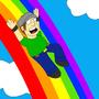Rainbow Slide by orlyman
