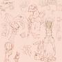 random sketch 27 08 2013 by SpanglishHorse