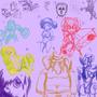 Random sketch 04 09 2013 by SpanglishHorse