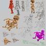 random sketch 21 11 2013 by SpanglishHorse